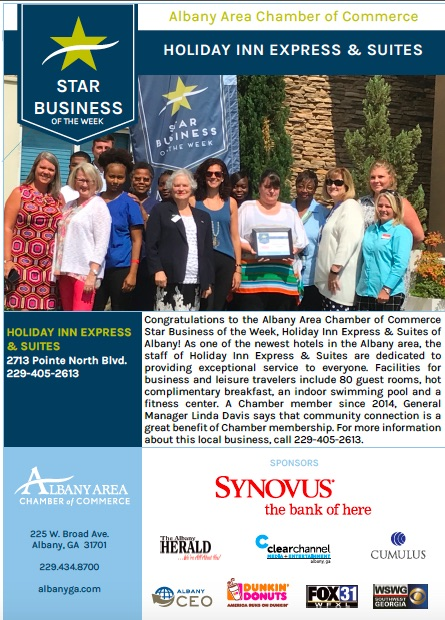 Albany Star Business of the Week: Holiday Inn Express